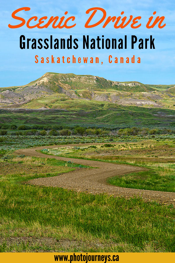 Scenic Drive in Grasslands National Park post on Photojourneys.ca