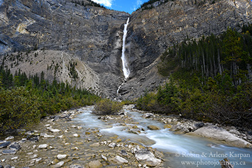 Takakkaw Falls, Yoho National Park, British Columbia.
