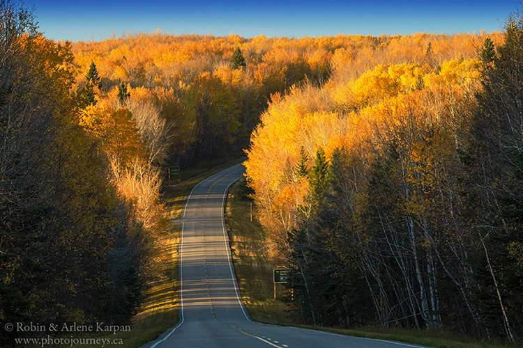 Scenic Highway #263, Prince Albert National Park, Saskatchewan