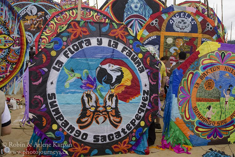 Kite festival, Sumpongo, Guatemala.