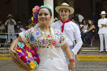 Folkloric dancers, Merida, Mexico