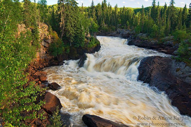 Smoothrock Falls, Clearwater River, Saskatchewan