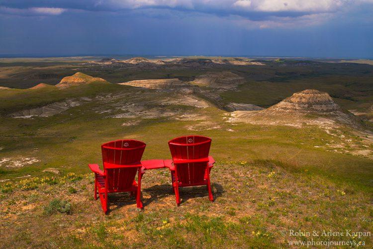 Badlands, Grasslands National Park, SK