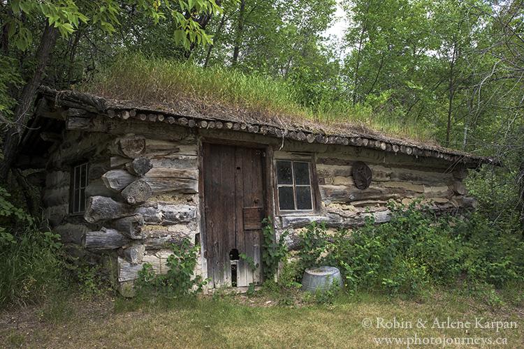 Jack Hitchcock's cabin, SK