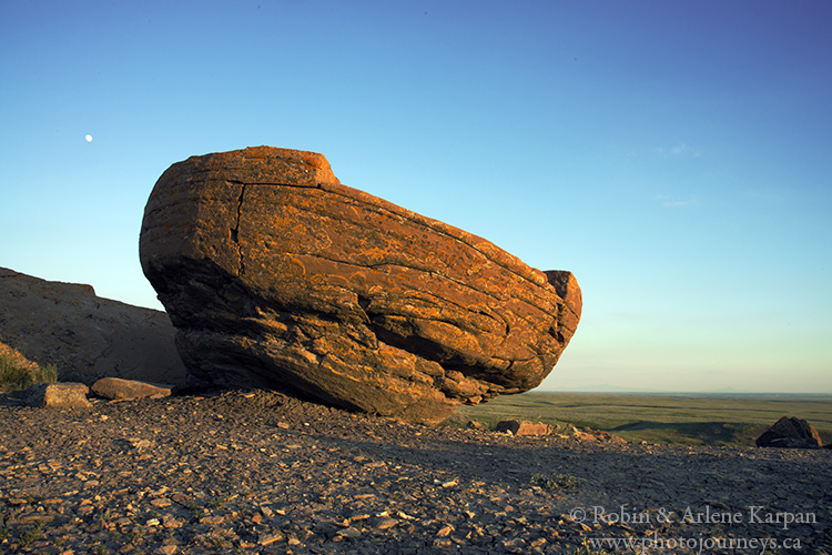 Red Rock Coulee near Medicine Hat, Alberta