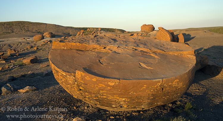 Red Rock Coulee near Medicine Hat, Alberta
