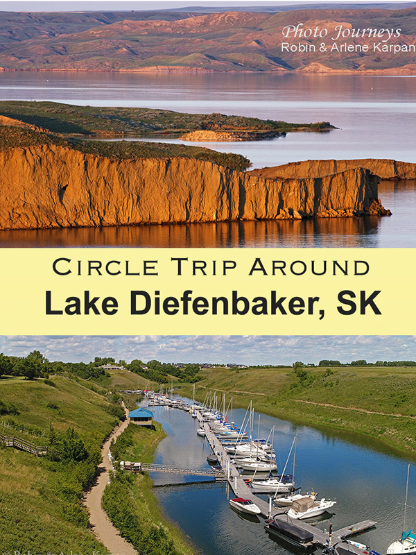 PIN for posting Circle Lake Diefenbaker Saskatchewan, Canada