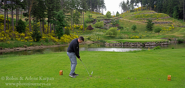 golfing, Bear Mountain Resort, Victoria