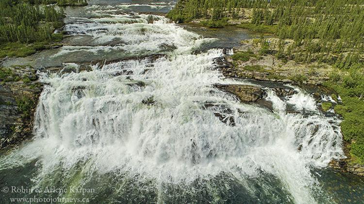 Hunt Falls, Saskatchewan