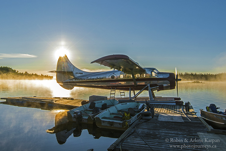 Athabasca Fishing Lodges Otter Plane, Saskatchewan