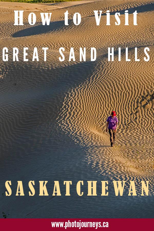 Pin for Great Sand Hills Saskatchewan