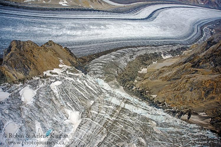 Glaciers, Kluane National Park, Yukon