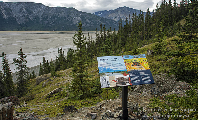 hiking trail, Kluane National Park, Yukon