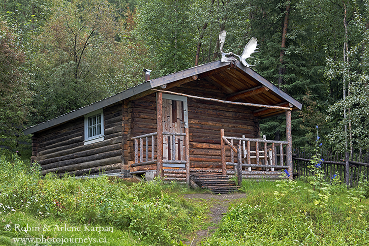 Robert Service cabin, Dawson City, Yukon