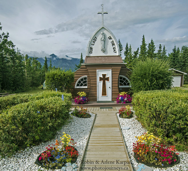 Our Lady of the Way Catholic Church in Haines Junction,