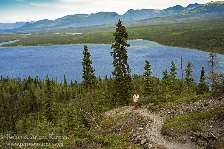 King's Throne Hike, Kluane National Park, Yukon.