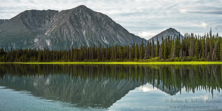 Kluane National Park, Kathleen River, Yukon
