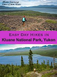 Kluane hiking post