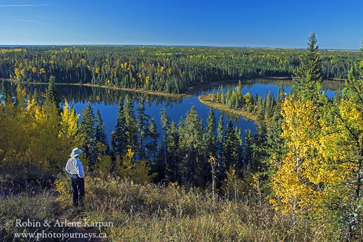 Grace Lakes, Narrow Hills Provincial Park, Saskatchewan, Canada