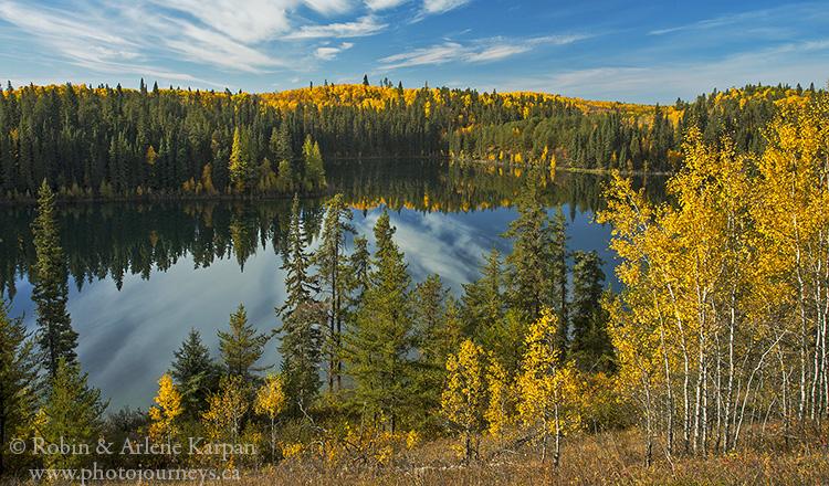 Jade Lake, Gem Lakes, Narrow Hills Provincial Park, Saskatchewan, Canada