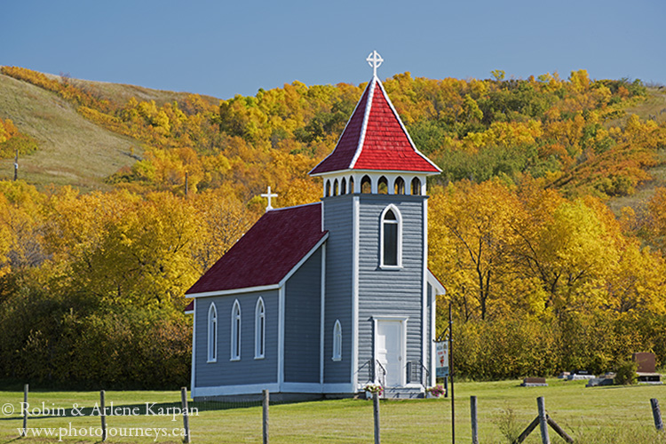 St. Nicholas Anglican Church, Qu'Appelle Valley