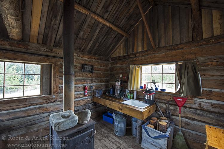 cabin, Mount Logan Lodge, Kluane, Yukon