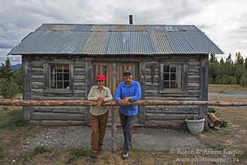 log cabin, Yukon