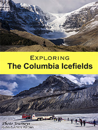 Pin for Exploring the Columbia Icefields blog posting on Photojourneys.ca