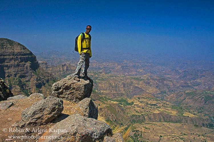 Simien Mountains, Ethiopia from photojourneys.ca