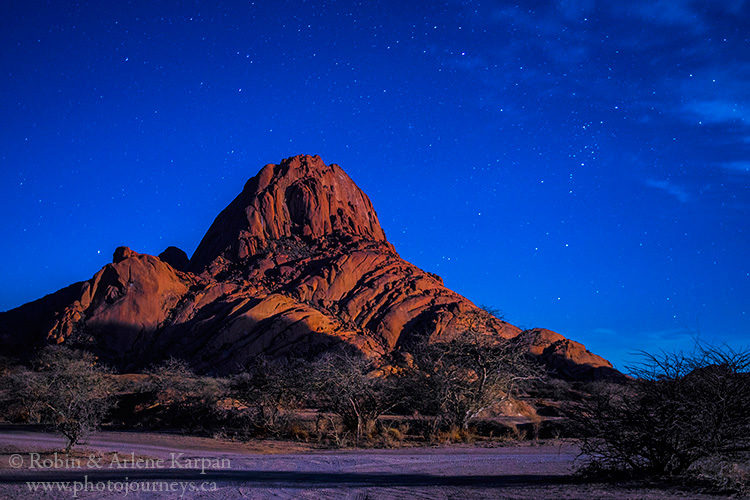 Spitzkoppe, Namibia from photojourneys.ca