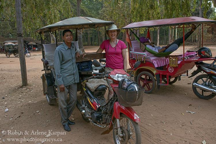 Tuktuk driver, Siem Reap, Cambodia