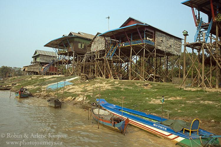 Tonle Sap floating village, Cambodia