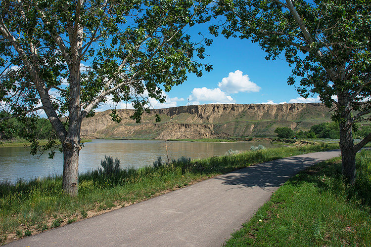 Strathcona Park, Medicine Hat on photojourneys.ca