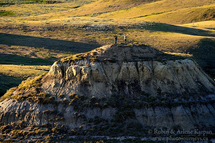 Badlands in Grasslands National Park, Saskatchewan, from Photojourneys.ca