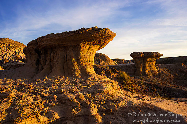 Avonlea Badlands, Saskatchewan from Photojourneys.ca