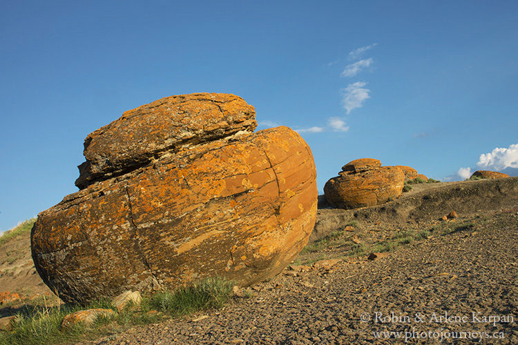 Red Rock Coulee, Medicine Hat on photojourneys.ca