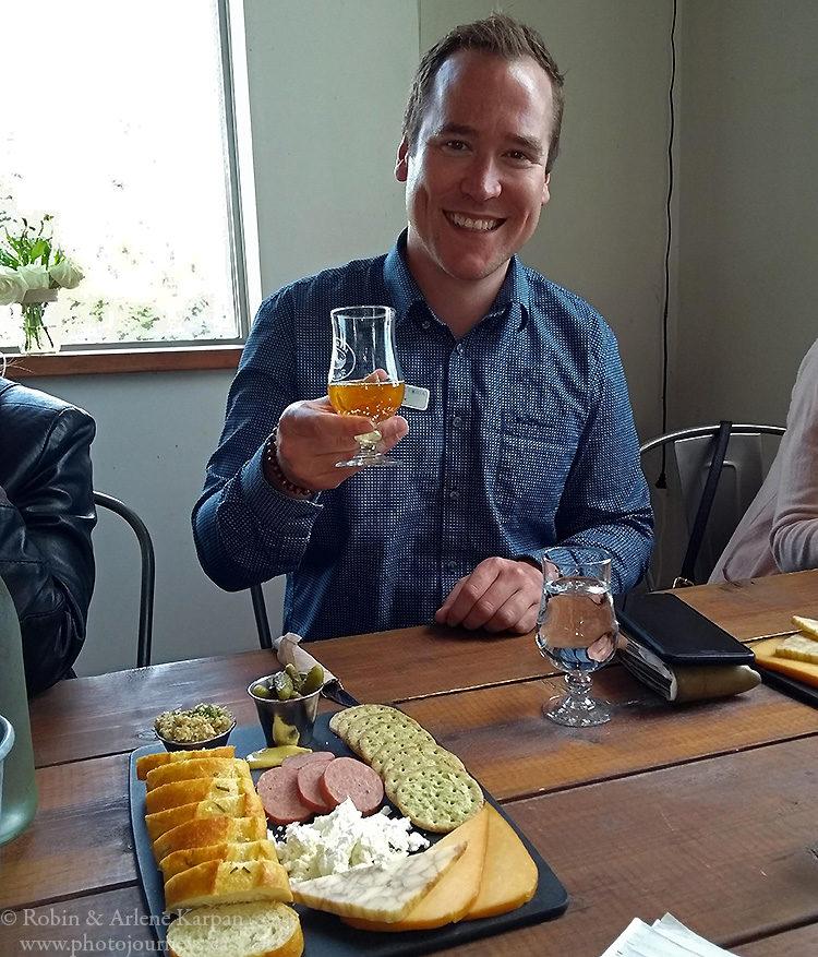 Tasting at Sea Cider Farm
