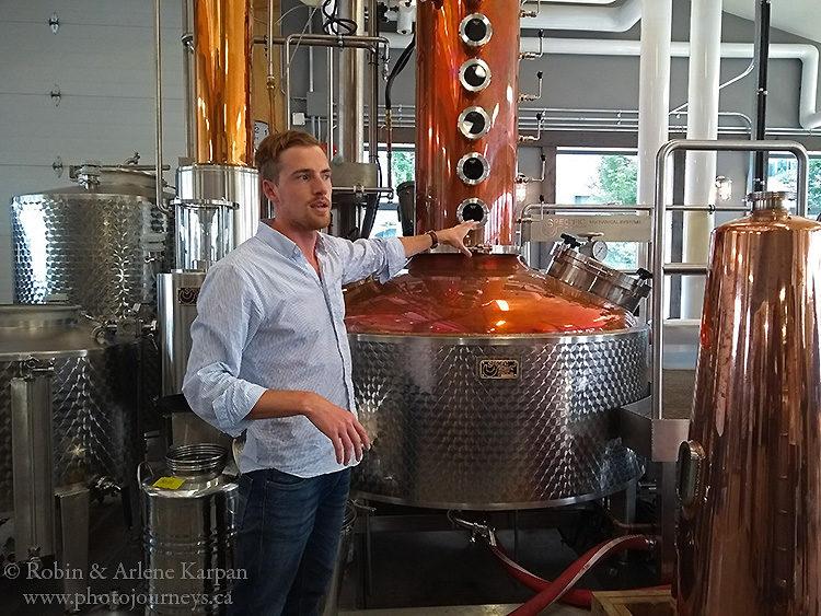 Victoria Distillers, Sidney, BC