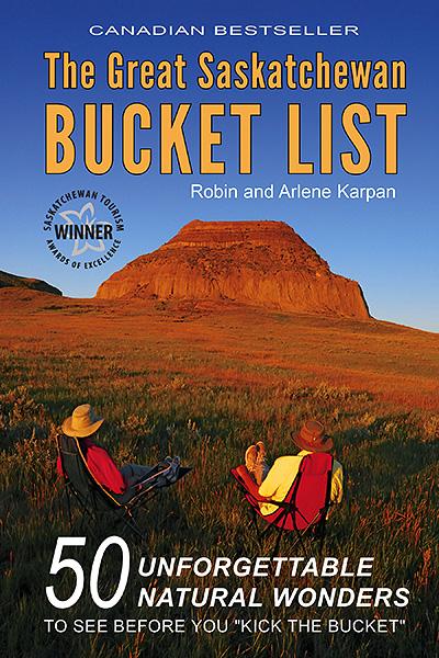 Great Saskatchewan Bucket List cover