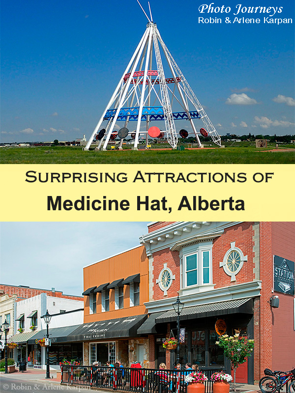PIN for article on Medicine Hat's Surprising Attractions on Photojourneys.ca