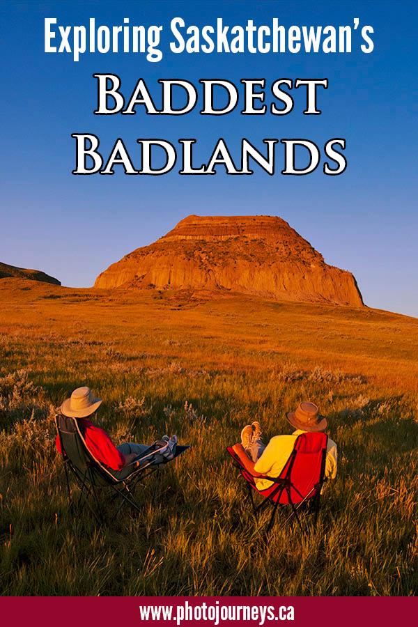 PIN for Sask. Badlands