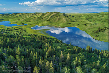 Adams Lake, Cypress Hills, Saskatchewan