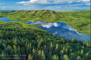 Adams Lake, Cypress Hills, Saskatchewan