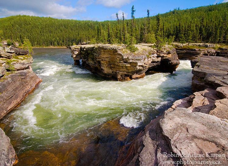 Manitou Falls, Fond du Lac River