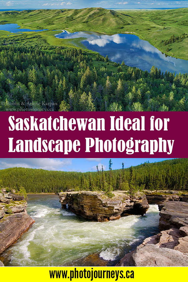 Saskatchewan Ideal for Landscape Photography PIN