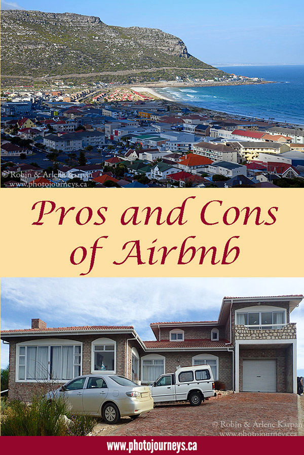 PIN for posting Pros and Cons of Airbnb on Photojourneys.ca