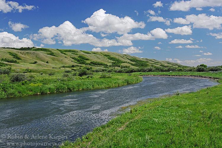 Qu'Appelle River, Saskatchewan.