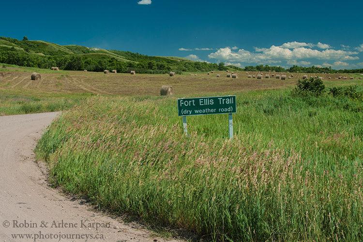 Fort Ellis Trail, Qu'Appelle Valley, Saskatchewan.
