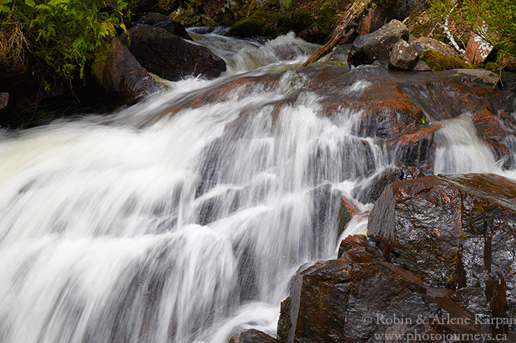 Rainbow Falls Provincial Park, Ontario.