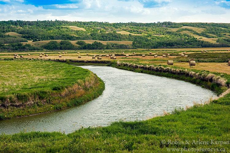 Qu'Appelle River near Craven, Saskatchewan.